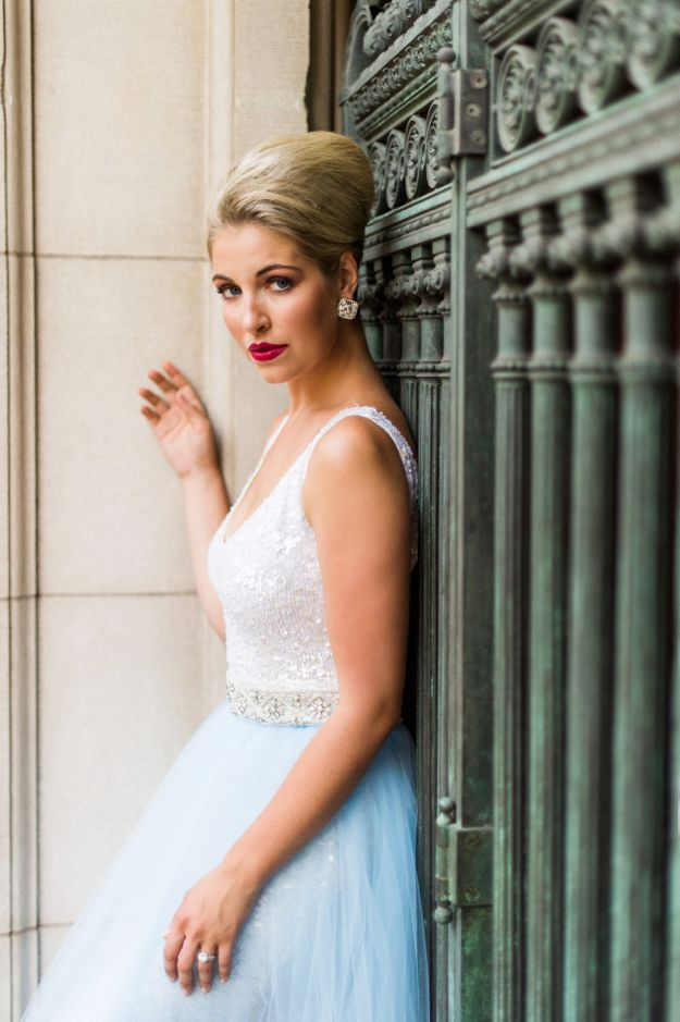 View More: http://justinandmary.pass.us/black-tie-bride-nyc-shoot