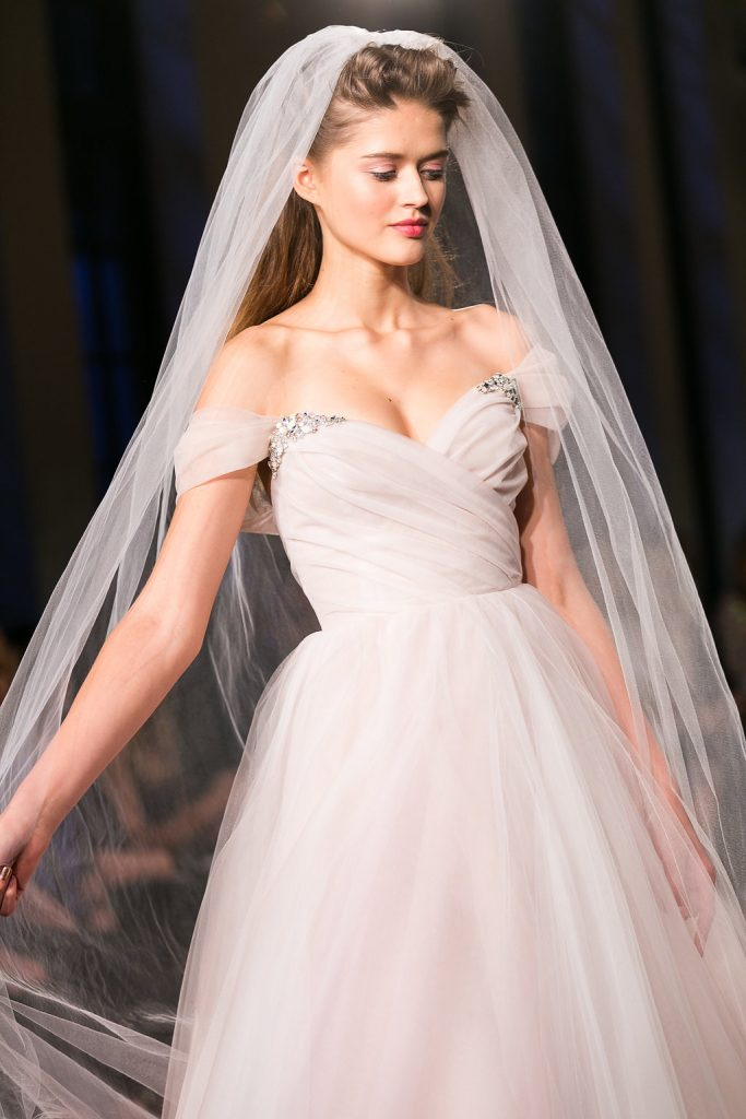 New York 2018 Bridal Trends. Mobile Image