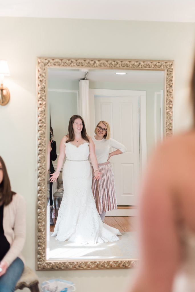 Why It's OK to Say YES on Your First Wedding Dress Shopping Trip