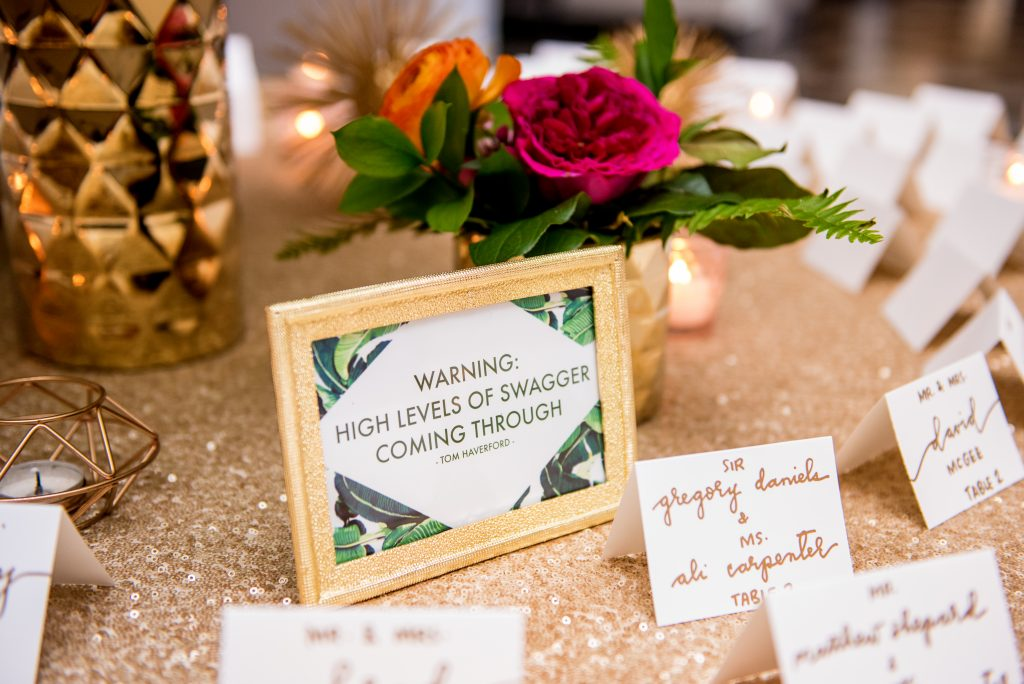 Shannon's Touch of Tropical Wedding