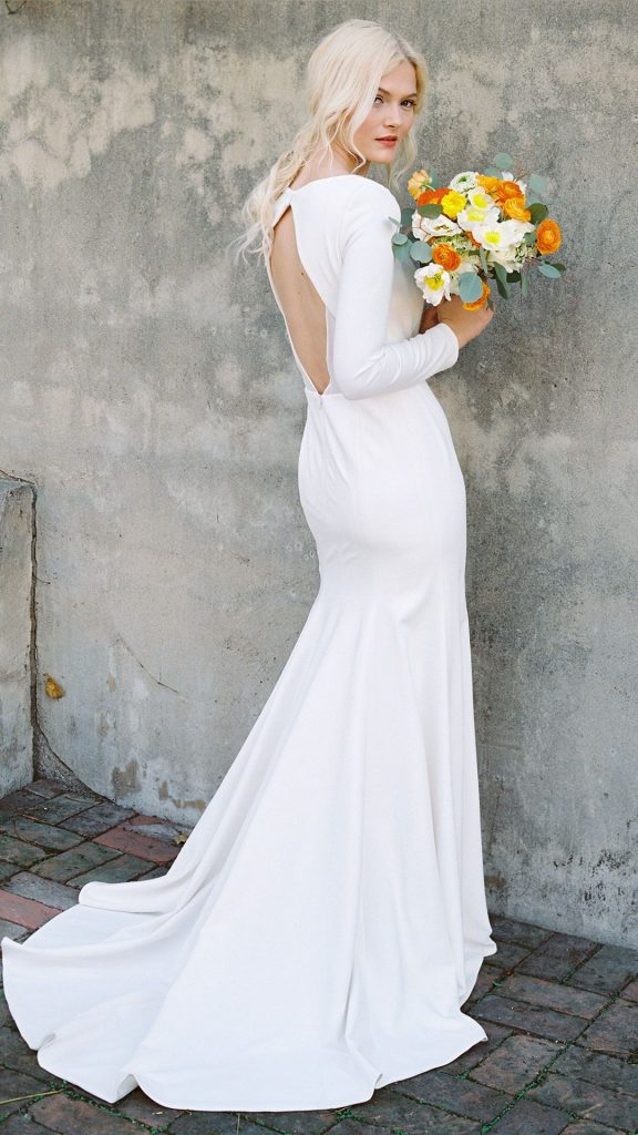 Long Sleeve Wedding Dresses : What We Are Loving. Mobile Image
