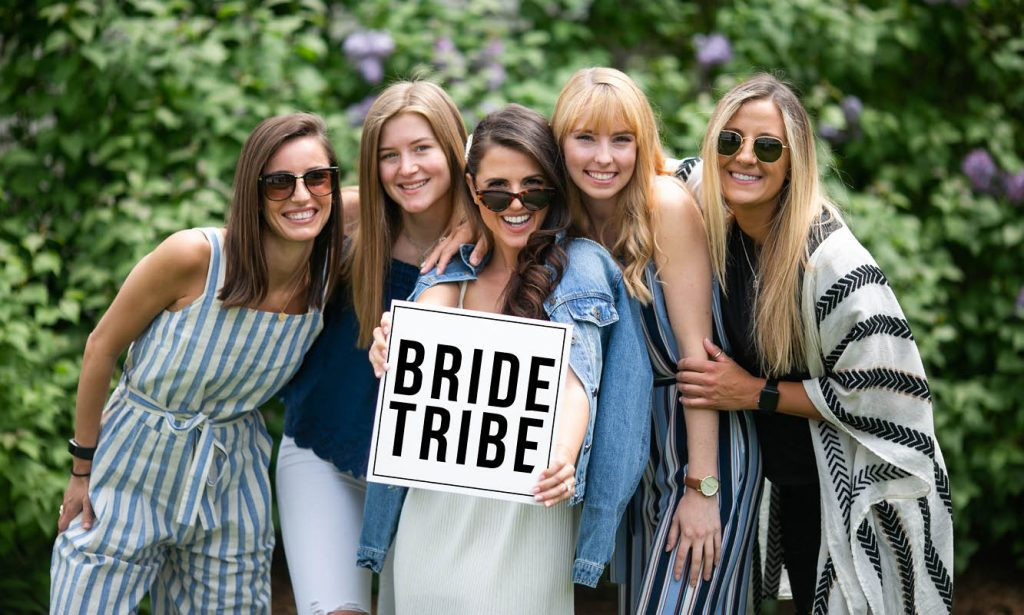 Bride Tribe at the White Carpet Appointment
